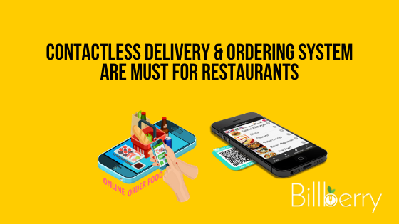 Contactless Delivery & Ordering system for restaurants
